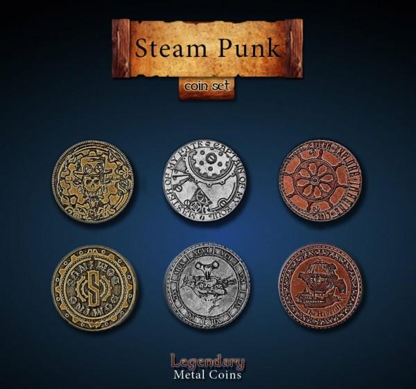 Steampunk Coin Set (24 Stück)