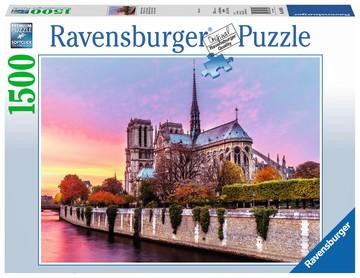 Puzzle: Malerisches Notre Dame (1500 Teile)