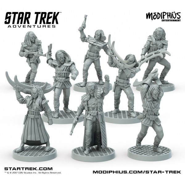 Star Trek: Star Trek Adventures: Klingon Warband (32MM Minis Box Set)