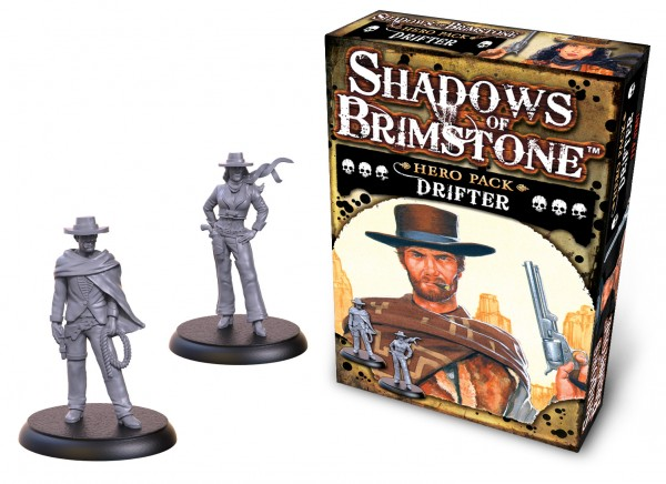 Shadows of Brimstone: Hero Pack – Drifter [Expansion]