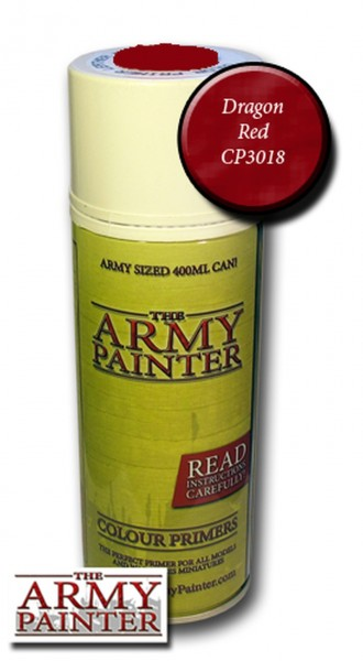 Army Painter Primer: Dragon Red (400ml)