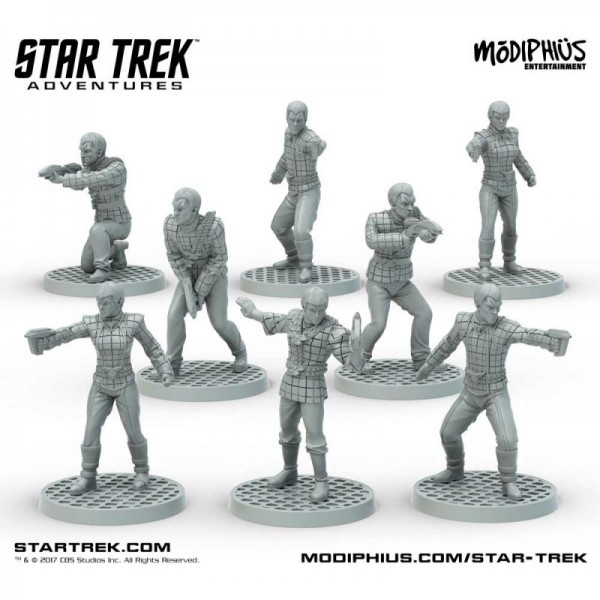 Star Trek: Star Trek Adventures: Romulan Strike Team (32MM Minis Box Set)