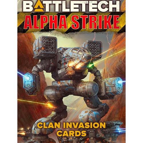 BattleTech: AS Clan Invasion Cards