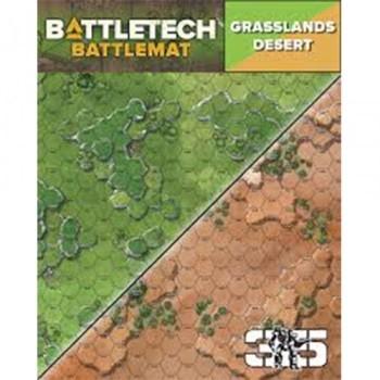 BattleTech: Battle Mat Grasslands/Desert