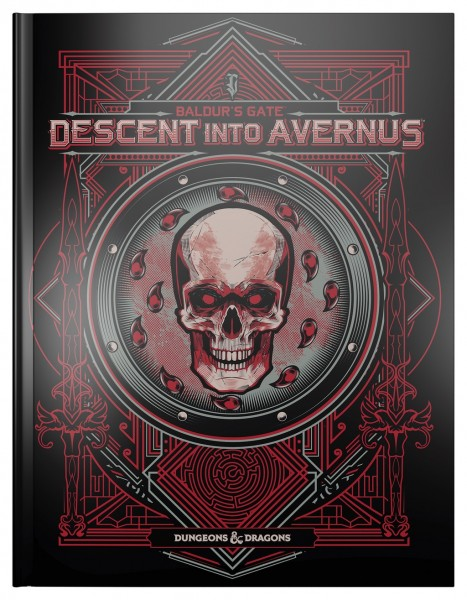 D&D Baldur's Gate: Descent into Avernus Alternate Cover
