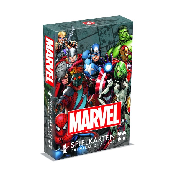 Playing Cards - Marvel Universe