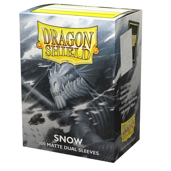 Dragon Shield: Matte – Dual Snow (100)