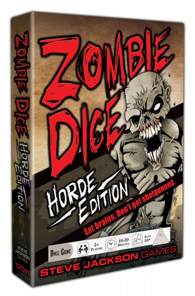 Zombie Dice Game: Horde Edition