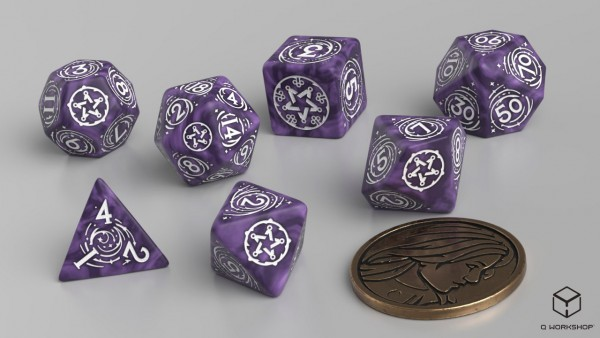 The Witcher Dice Set: Yennefer – Lilac and Gooseberries (7)
