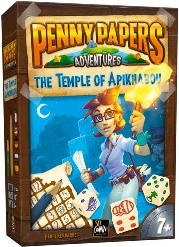 Penny Papers Adventures: Skull Island (multilingual)