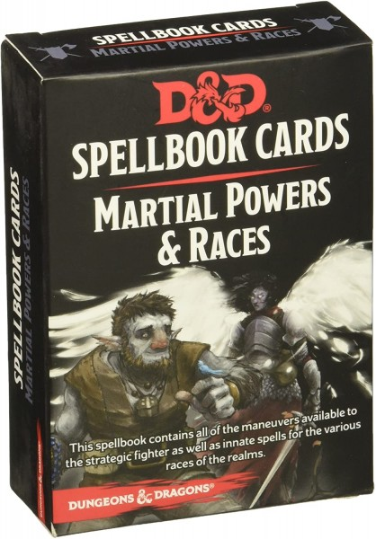 Dungeons & Dragons: Martial Powers&Races Deck REVISED (61 Cards)