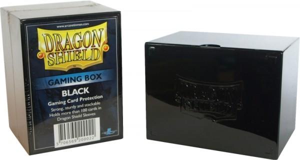Dragon Shield: Gaming Box – Strong Box 100+: Black