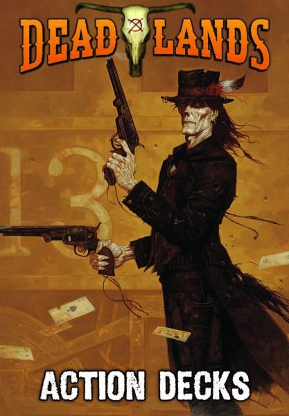 Deadlands 20th Anniversary Action Decks