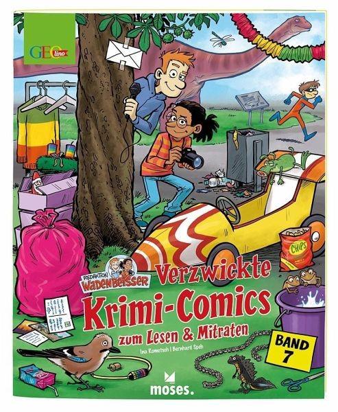 Redaktion Wadenbeißer – Verzwickte Krimi-Comics Bd. 7