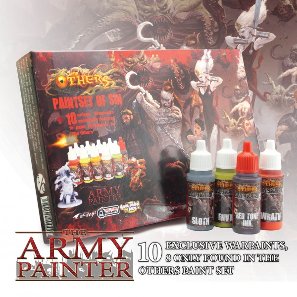 Army Painter - The Others Paint Set of Sin