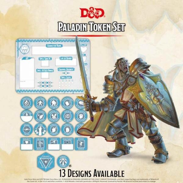 Dungeon & Dragons: Paladin Token Set