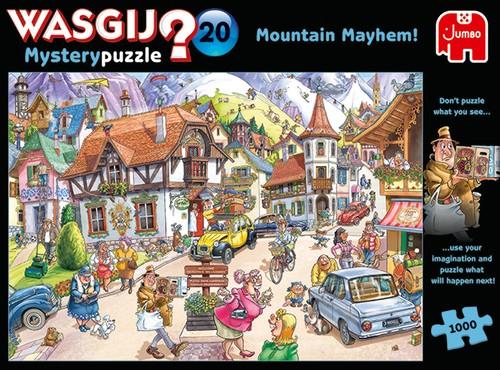 Wasgij Mystery 20: Idylle in den Bergen! (1000 Teile)
