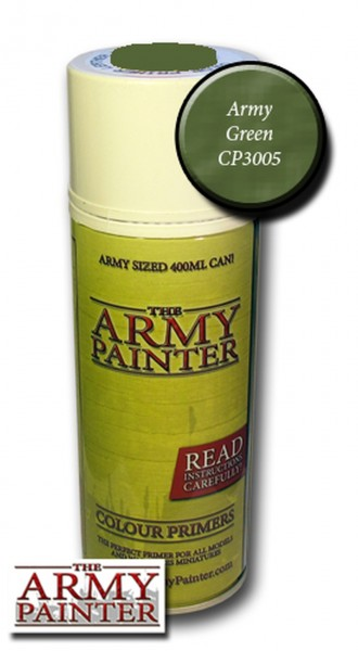 Army Painter Primer: Army Green Spray (400ml)
