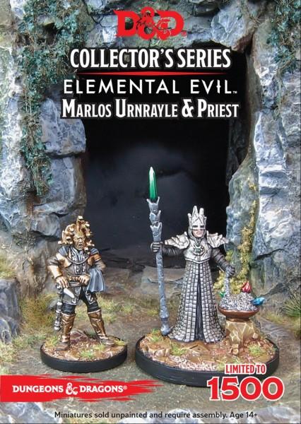 Temple of Elemental Evil: Marlos Urnrayle & Priest(2Figuren)