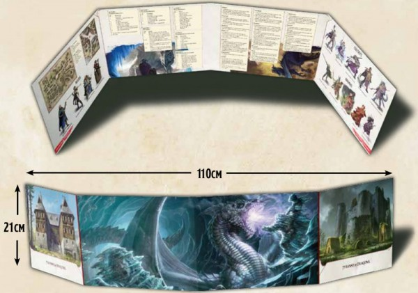Dungeons & Dragons: Tyranny of Dragons DM Screen
