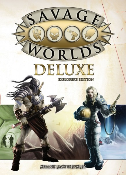 Savage Worlds: SW Deluxe Explorer's Edition