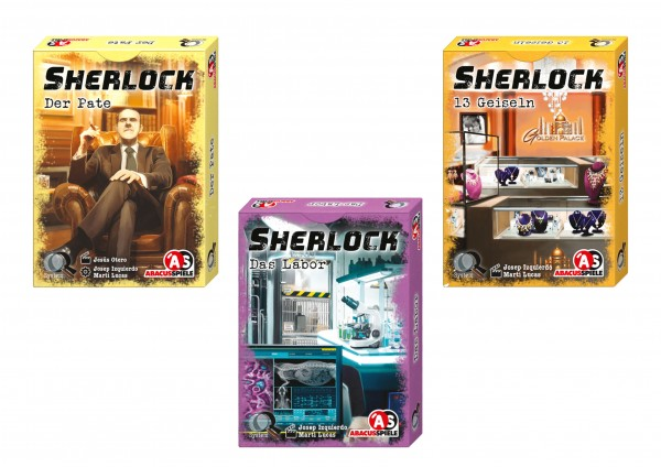 Sherlock - Display II (15 Stück)