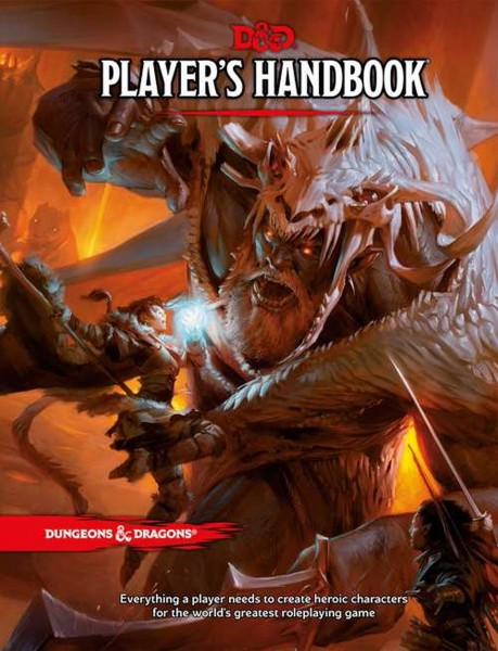 Dungeons & Dragons: Player's Handbook TRPG (Hardcover) *Neu*