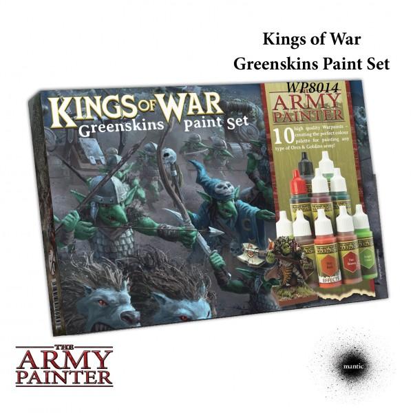 Army Painter - Warpaints Kings of War Greenskins
