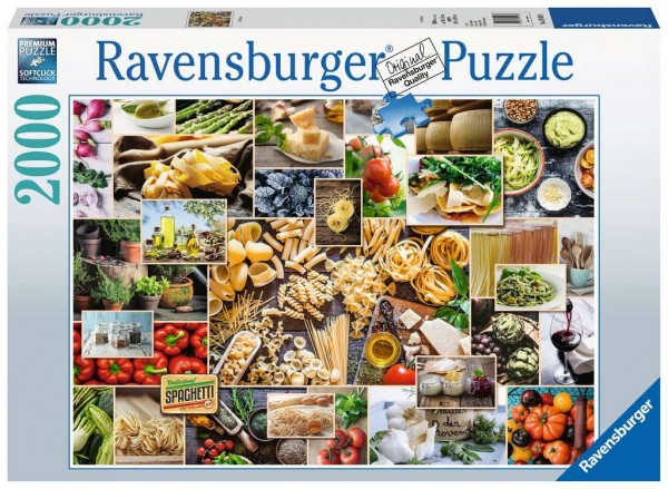 Puzzle: Food Collage (2000 Teile)