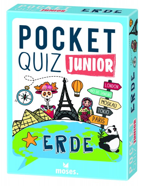 Pocket Quiz junior – Erde