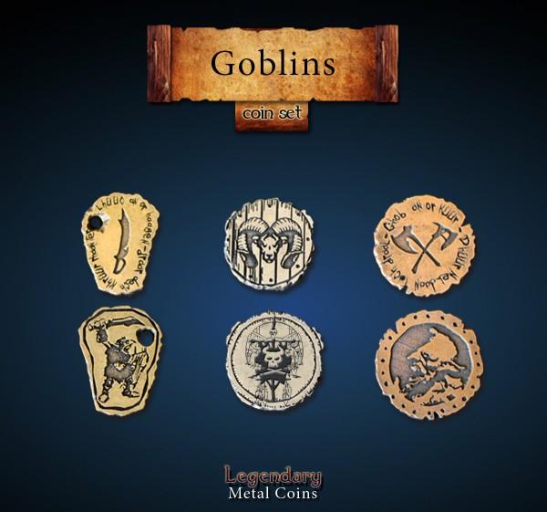 Goblin Coin Set (24 Stück)