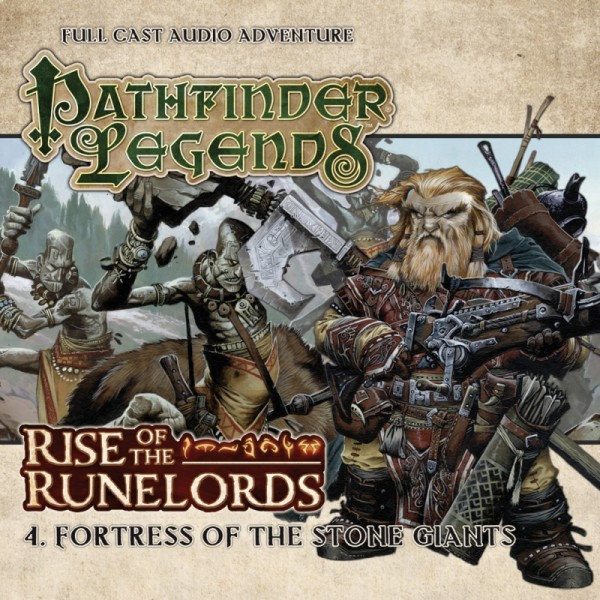 Pathfinder Legends: Fortress of the Stone Giants (Audio-CD)
