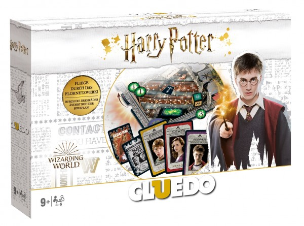 Cluedo – Harry Potter Collectors Edition in Weiß