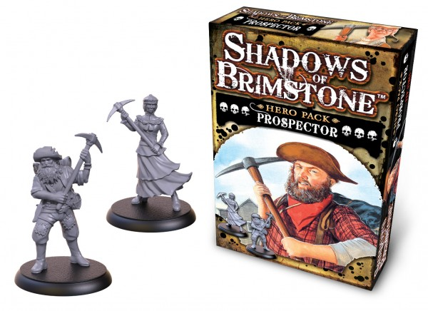 Shadows of Brimstone: Hero Pack – Prospector [Expansion]