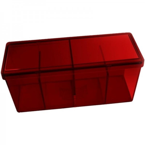 Dragon Shield: Gaming Box 4 Compartments – Red