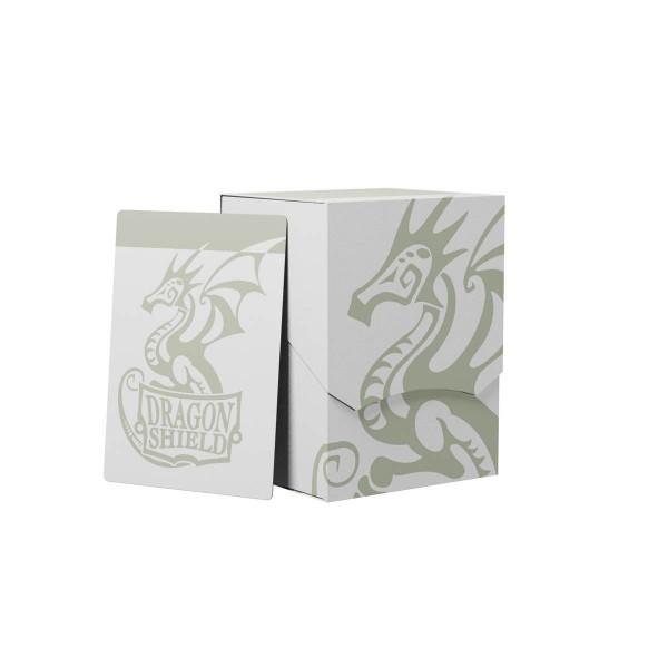 Dragon Shield: Deck Shell 100+: White/Black
