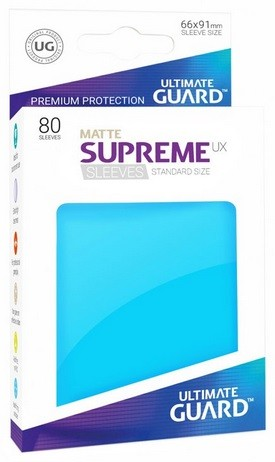 Supreme UX Sleeves Standard Matte - Light Blue (80)