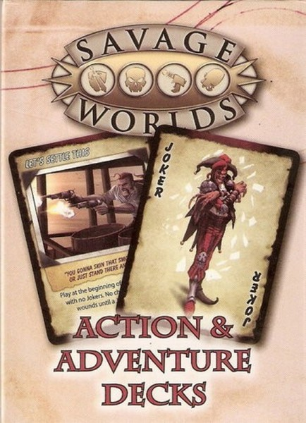 Savage Worlds Action Deck Pokercards