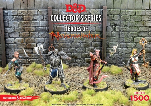 Dungeons & Dragons: Heroes of Neverwinter (4 Figuren)