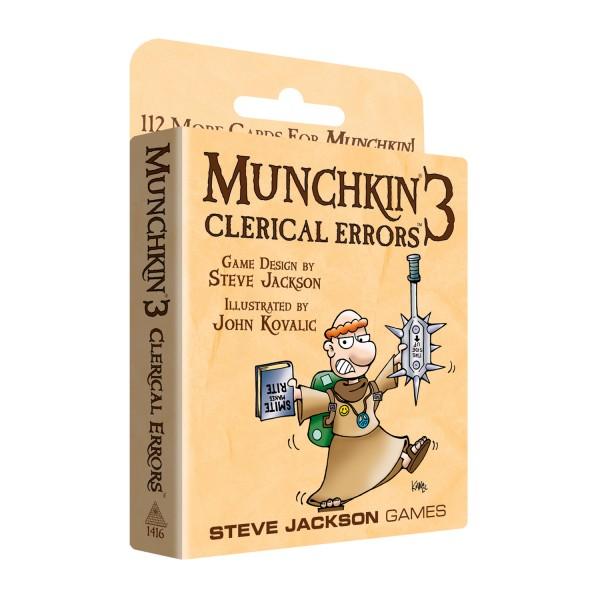 Munchkin 3: Clerical Errors (englische Ausgabe)