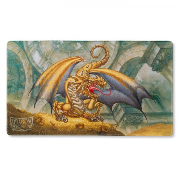 Dragon Shield: Playmat ART – Gold: Dragon Gygex *limited*