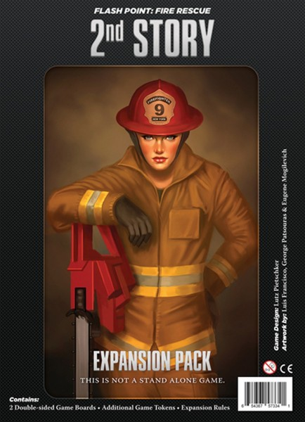 Flash Point: Fire Rescue - 2nd Story Expansion