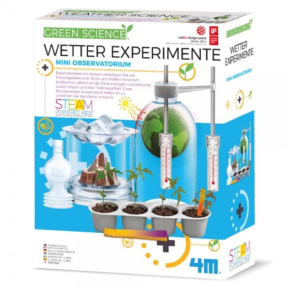 Green Science: Wetter Experimente *Neu*