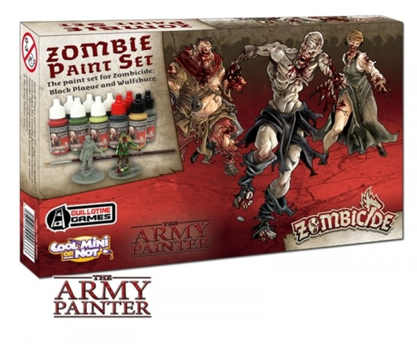 Army Painter - Zombicide Black Plague Paint Set