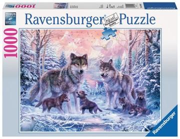 Puzzle: Arktische Wölfe (1000 Teile)