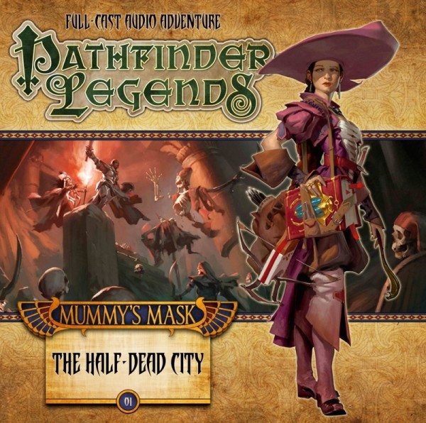Pathfinder Legends: Half-Dead City (Audio-CD)