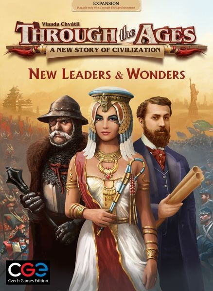 Through the Ages: New Leaders & Wonders [Expansion]