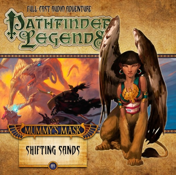 Pathfinder Legends: Shifting Sands (Audio-CD)