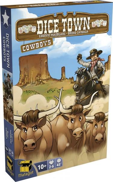 Dice Town Expansion: Cowboys