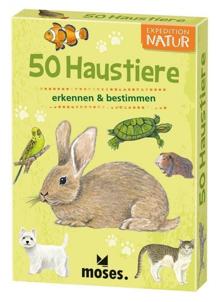 Expedition Natur - 50 Haustiere